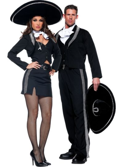 Mariachi Couples Costumes