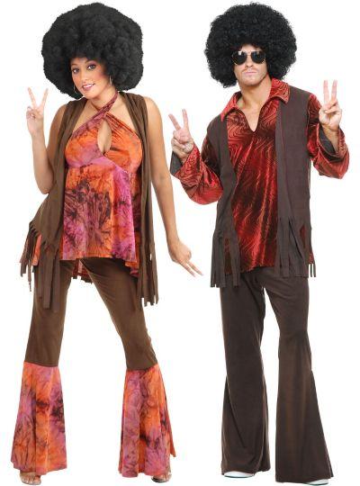 San Francisco Hippie Couples Costumes