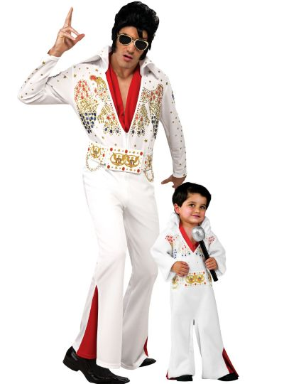Elvis Presley Daddy and Me Costumes
