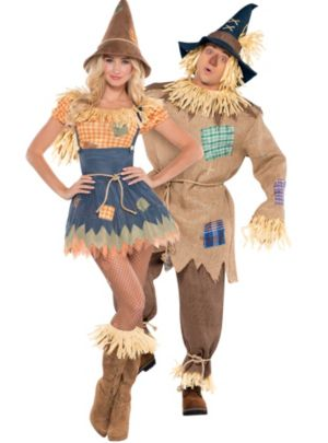 Scarecrow Couples Costumes