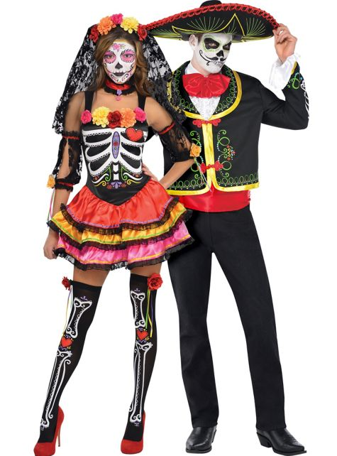 Day of The Dead Makeup Couple Day of The Dead Couples