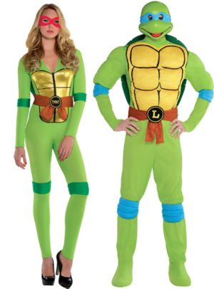 Adult Teenage Mutant Ninja Turtles Couples Costumes