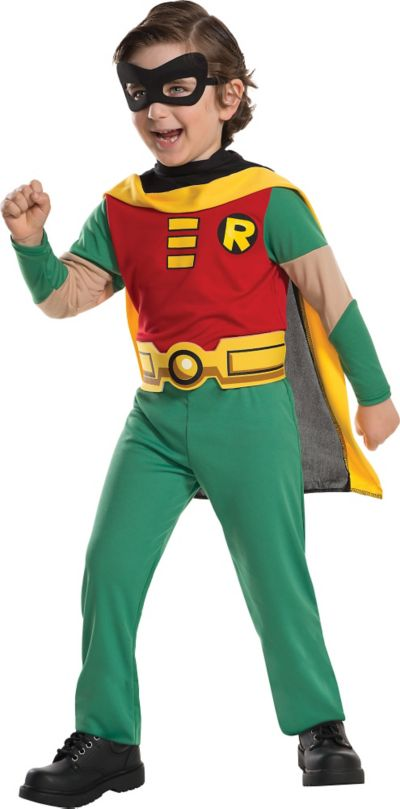 Boys Robin Costume - Teen Titans