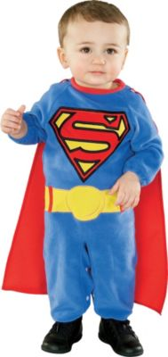 sc 1 st  Party City & Baby Superman Costume | Party City