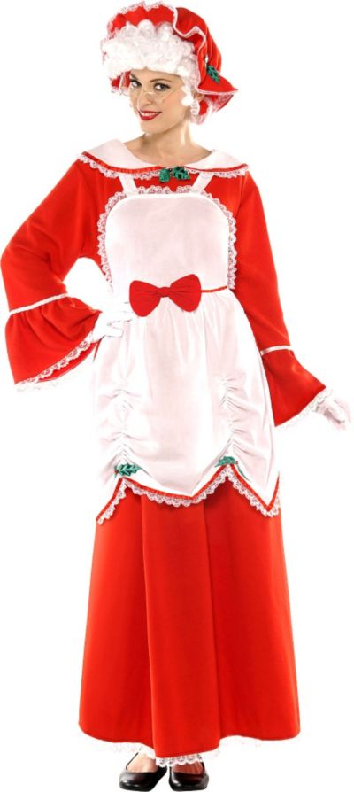 Adult Mrs Claus Costume Party City