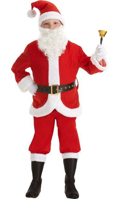 51e3c8ffd6a Boys Santa Suit Costume
