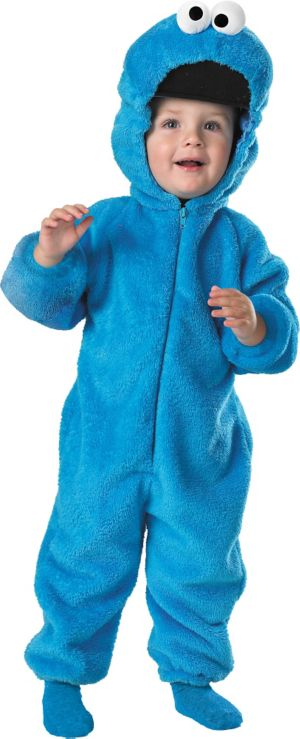 Toddler Boys Cookie Monster Costume Deluxe - Sesame Street