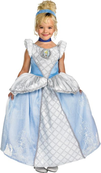 Girls Cinderella Costume Storybook Prestige