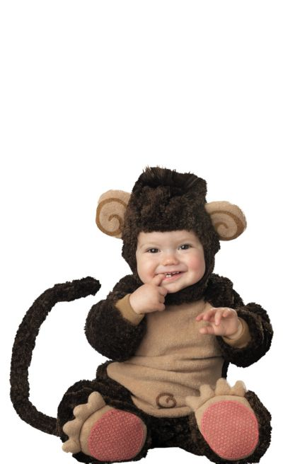 Baby Lil Monkey Costume Deluxe