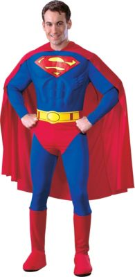 sc 1 st  Party City & Adult Deluxe Superman Costume | Party City
