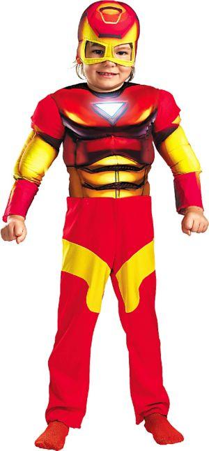 Toddler Boys Iron Man Costume