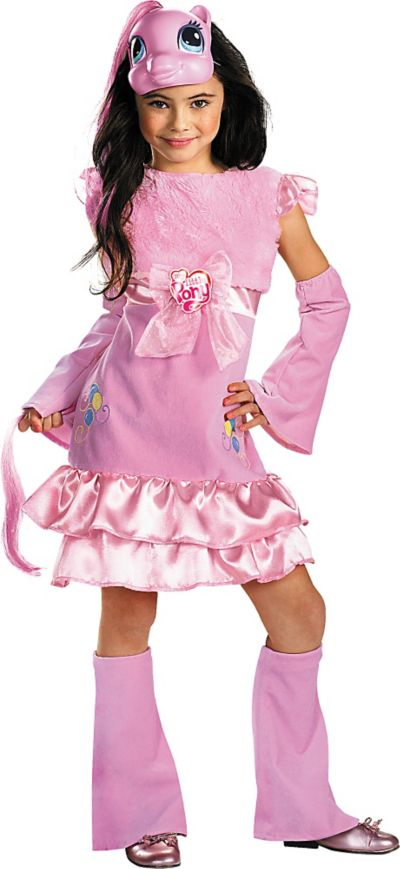 Girls Pinkie Pie Costume Deluxe - My Little Pony