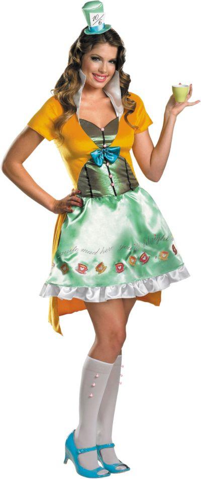 Adult Sassy Mad Hatter Costume - Disney's Alice in Wonderland