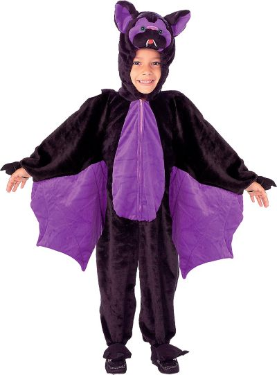 Toddler Boys Plush Lil Bat Costume