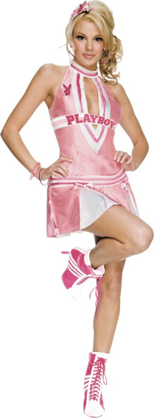 Adult Cheerleader Costume - Playboy