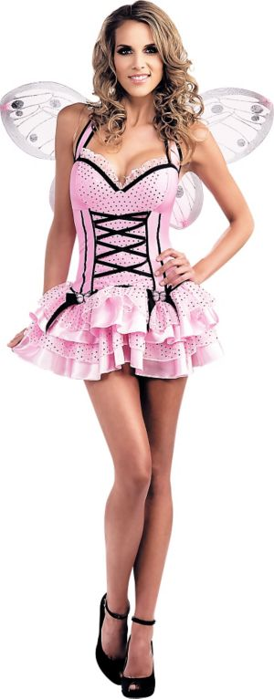 Adult Pink Butterfly Costume