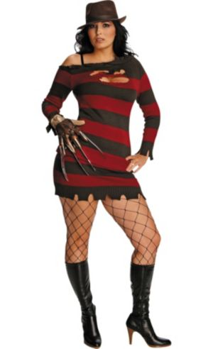 Adult Ms. Krueger Costume Plus Size - Nightmare on Elm Street