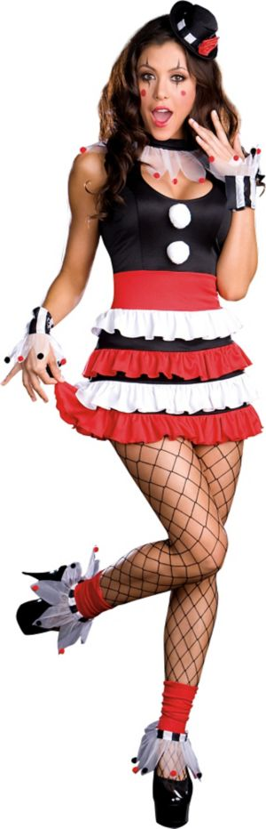 Adult Sexy Cirque Circus Clown Costume
