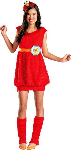 Girls Elmo Costume - Sesame Street