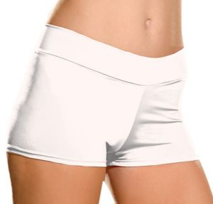Adult White Roxie Hot Short