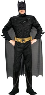 sc 1 st  Party City & Adult Batman Costume Deluxe | Party City