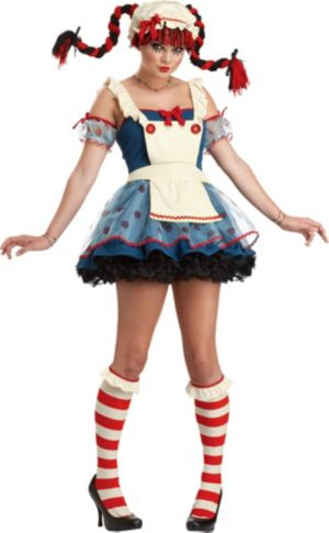Teen Girls Rag Doll Costume