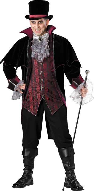 Adult Vampire of Versailles Costume Plus Size Elite