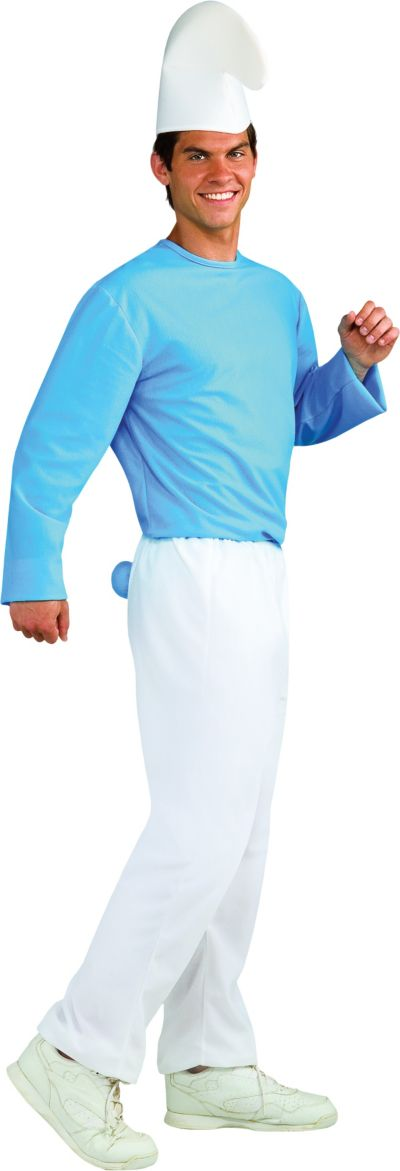 Adult Smurf Costume - The Smurfs