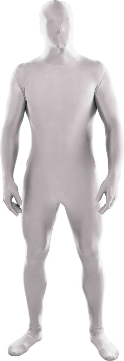Adult White Partysuit
