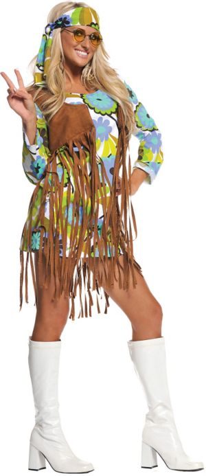 Adult Retro Hippie Costume