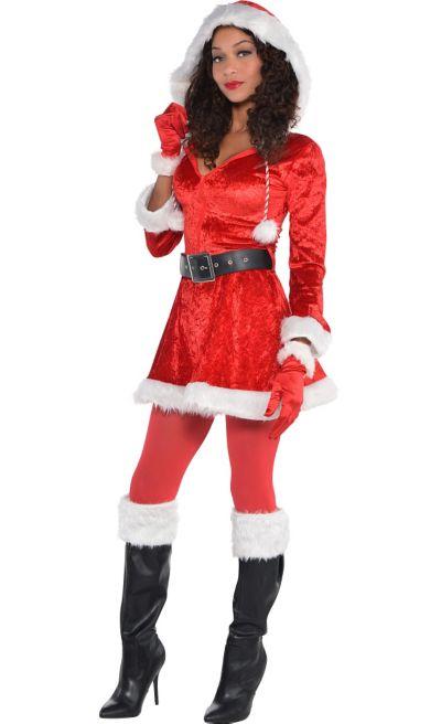 Women S Sexy Santa Costume Party City