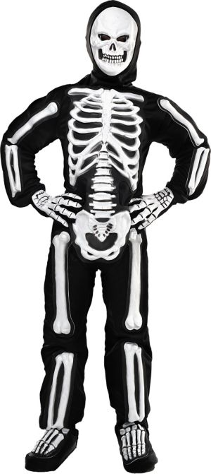 Boys Totally Skelebones Skeleton Costume