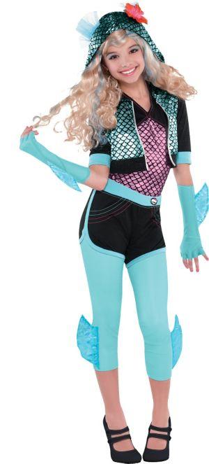 Girls Lagoona Blue Costume Deluxe - Monster High