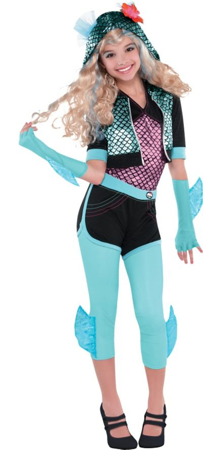 Girls Lagoona Blue Costume Deluxe - Monster High