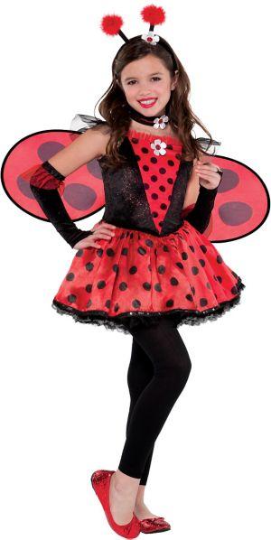 Girls Totally Ladybug Costume