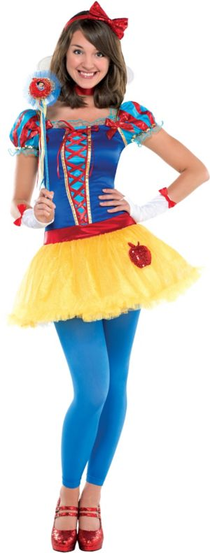 Teen Girls Snow White Costume