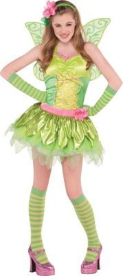 sc 1 st  Party City & Teen Girls Tinker Bell Costume | Party City
