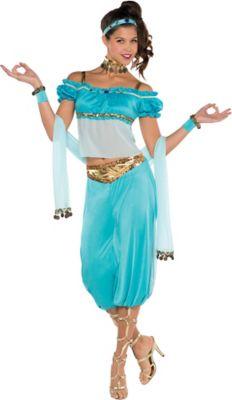 sc 1 st  Party City & Adult Princess Jasmine Costume   Party City