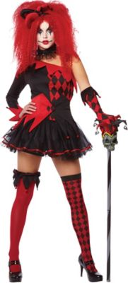 Sexy court jester costume