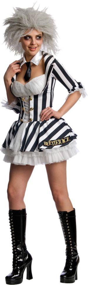 Adult Sassy Beetlejuice Costume