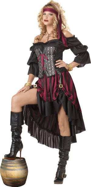 Adult High Seas Pirate Priestess Costume