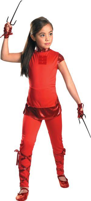 Girls Jinx Costume - G.I. Joe