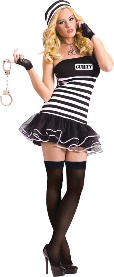 Adult Guilty Conscience Prisoner Costume