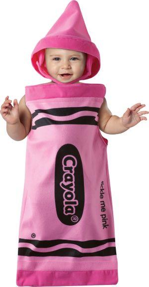 Baby Bunting Pink Crayola Crayon Costume