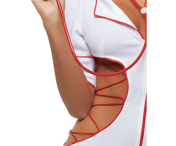 Adult Cut-Out Nurse Costume