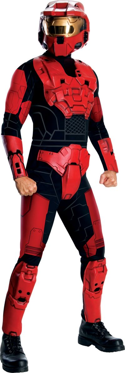 Adult Halo Red Costume Deluxe