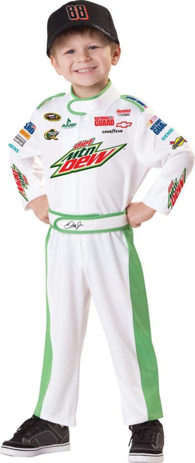 Toddler Boys Dale Earnhardt Jr Costume - NASCAR