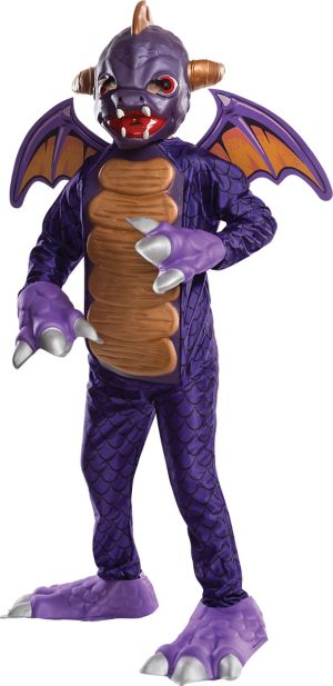 Little Boys Spyro Costume Deluxe - Skylanders