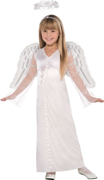 Girls Heavenly Angel Costume