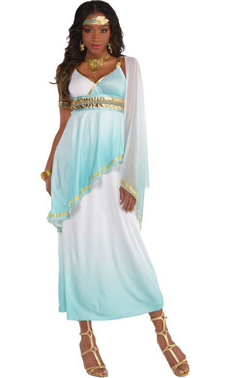 Sun Costume For Adults Adult Grecian Goddess Costume
